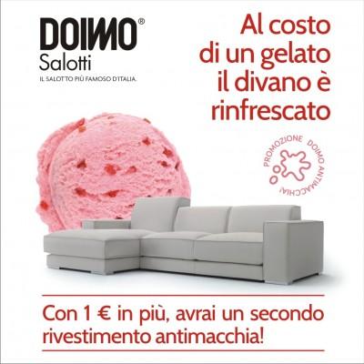 Doimo promozione rivestimento la dimensione - Costo rivestimento divano ...